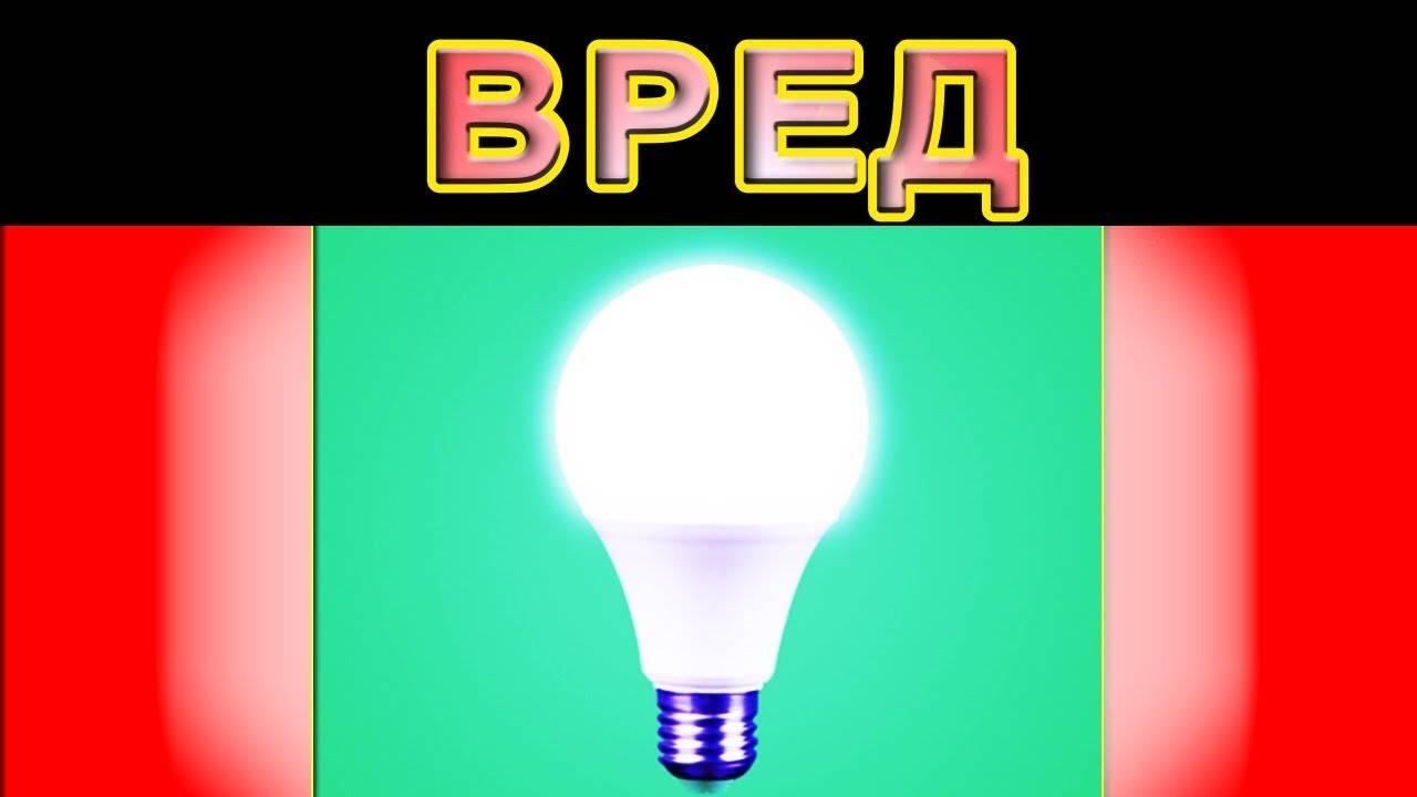 Вредны ли светодиодные лампы для человека. чем опасны светодиодные лампы для человеческого организма