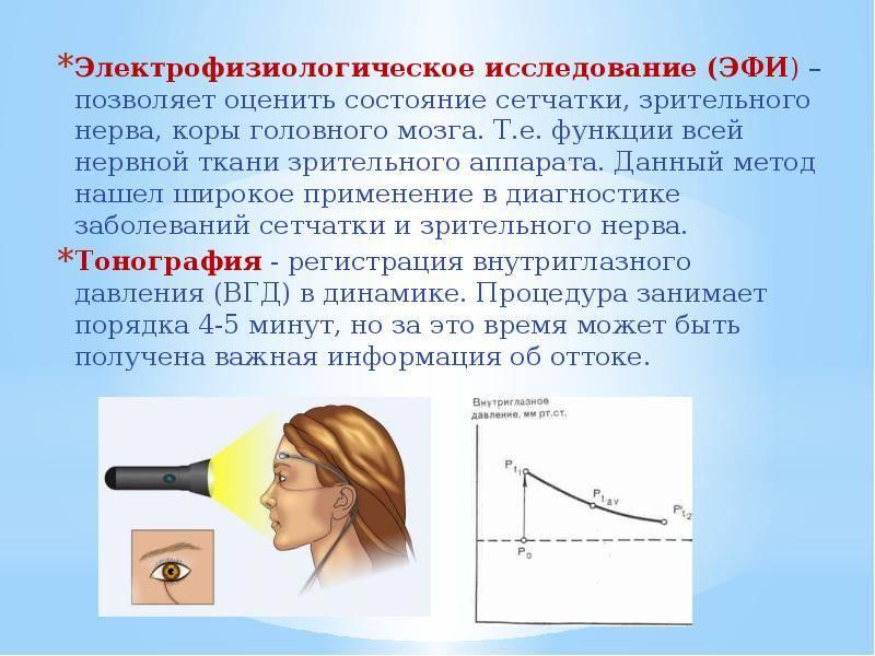 Эфи - электрофизиологическое исследование глаз в москве