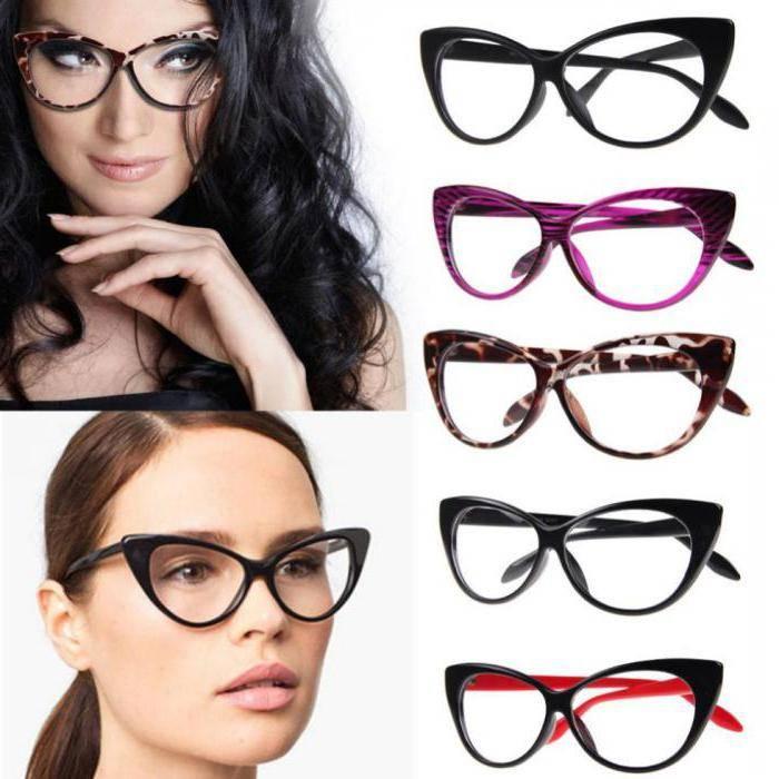 Красивые женские оправы для очков (фото)