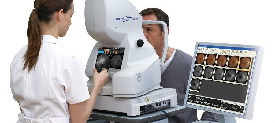 Оптическая когерентная томография глаза