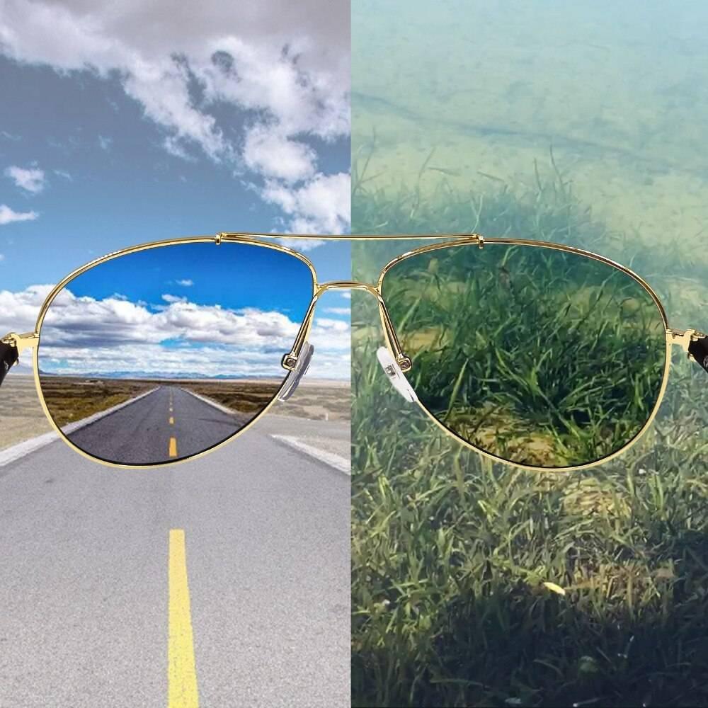 Поляризационные очки для вождения и рыбалки - популярные модели