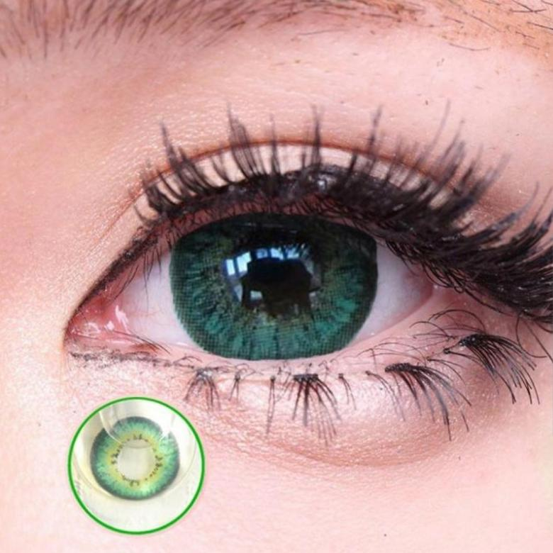 Как правильно подобрать зеленые цветные линзы в зависимости от своего цвета глаз?
