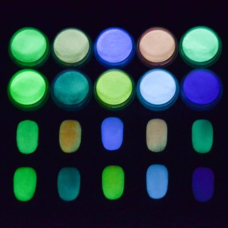 Светящиеся лаки: описание, особенности применения, фото