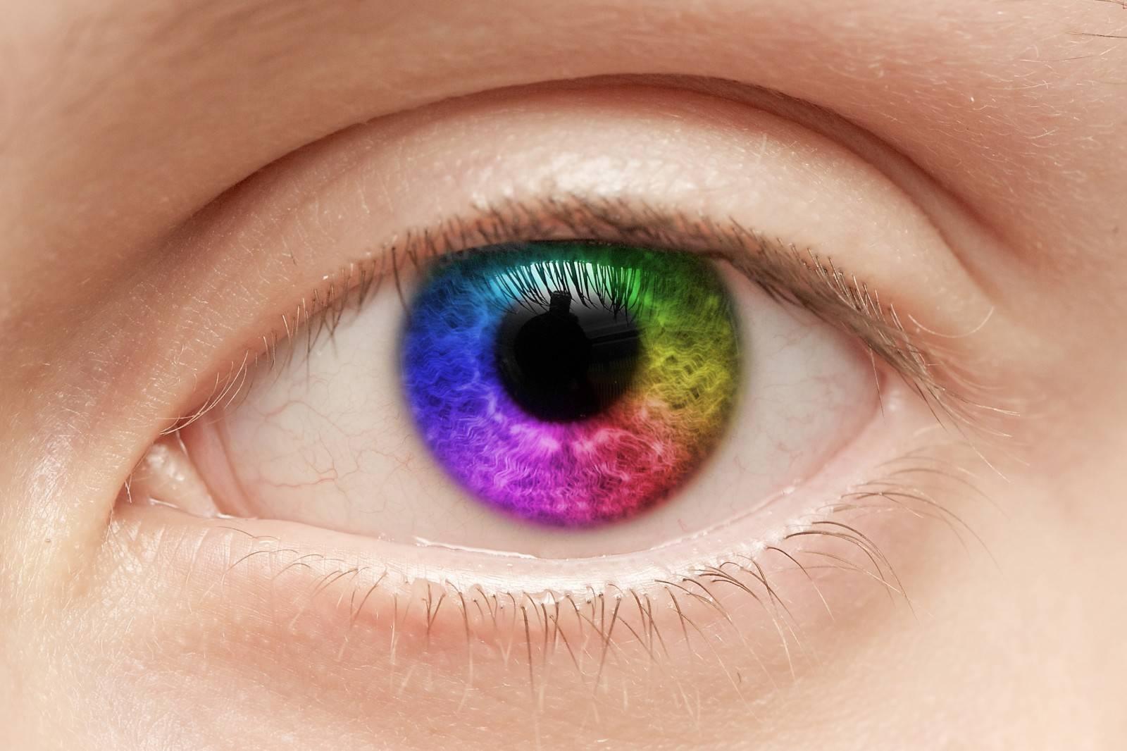 Серый цвет глаз