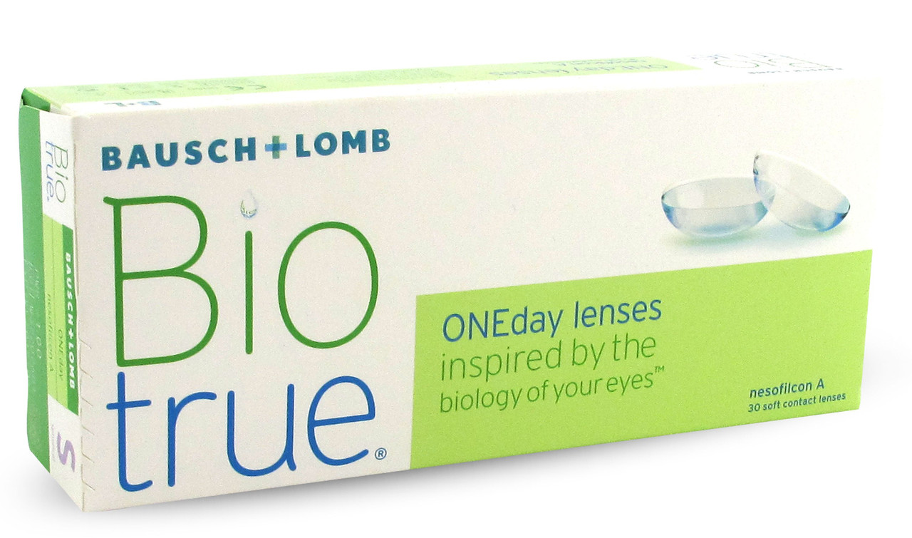Линзы biotrue oneday отзывы