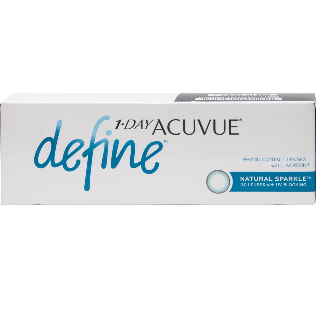 1 day acuvue define обзор линз отзывы