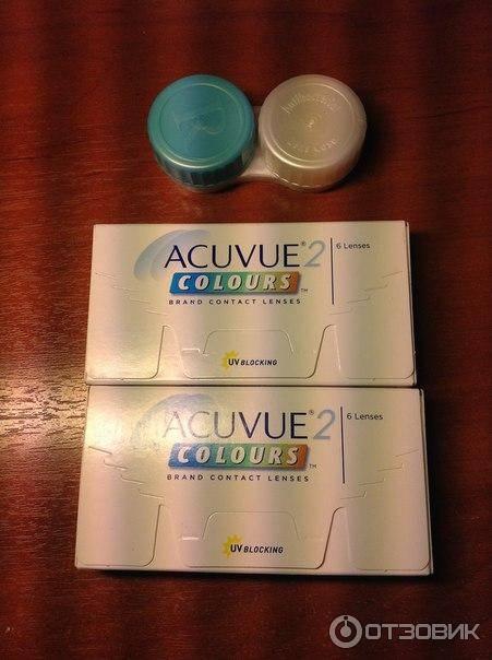Обзор: оттеночные линзы acuvue 2 colours кому подойдут эти модели?