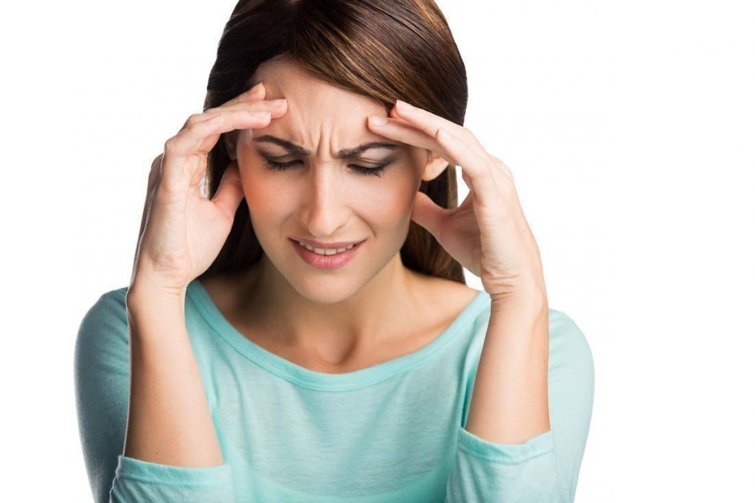 Головные боли и падение зрения