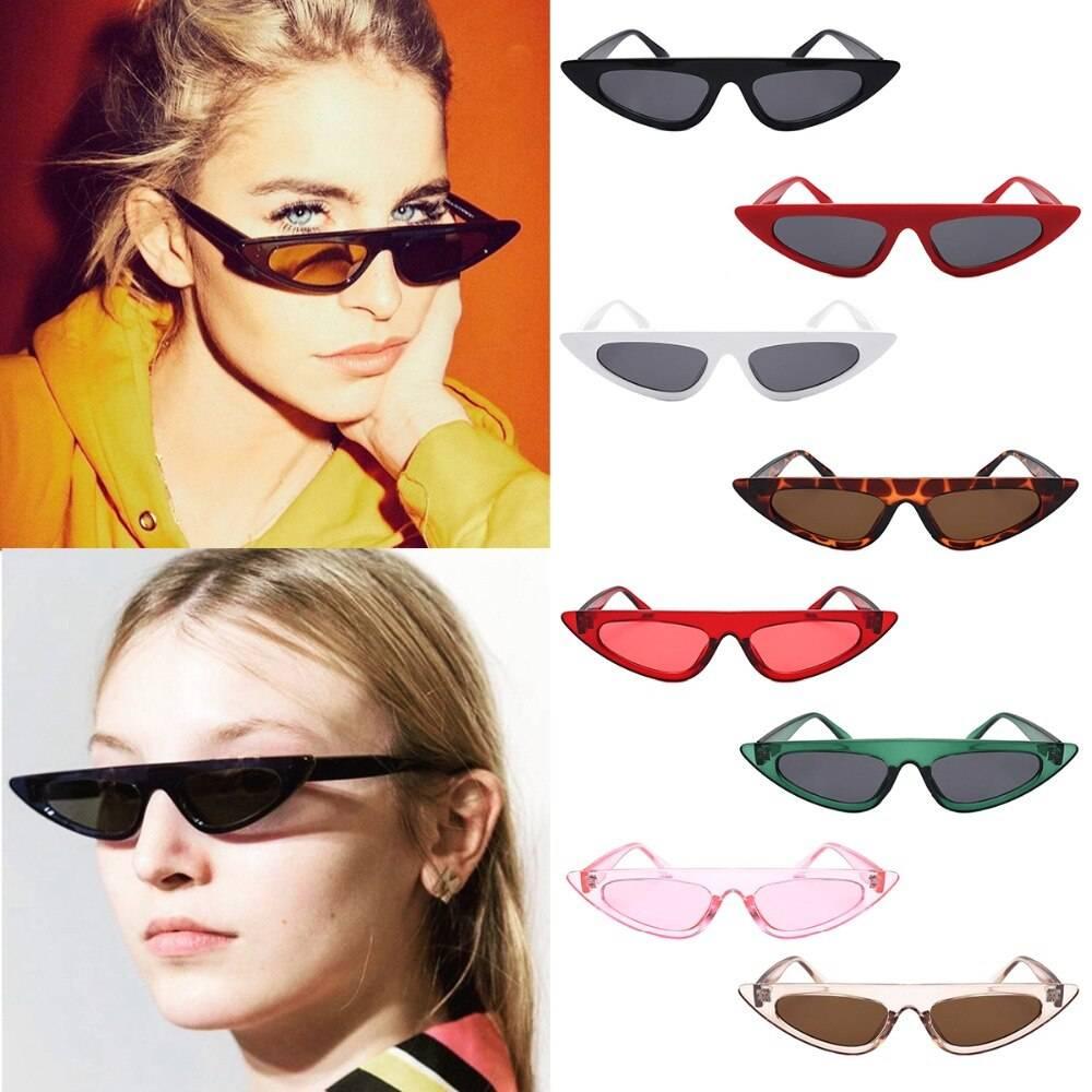 Кому идут солнцезащитные очки кошачий глаз