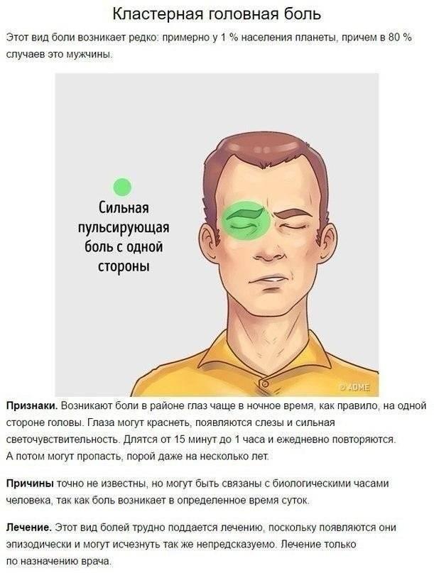 Почему болит правая часть головы: особенности локализации симптома и возможные причины