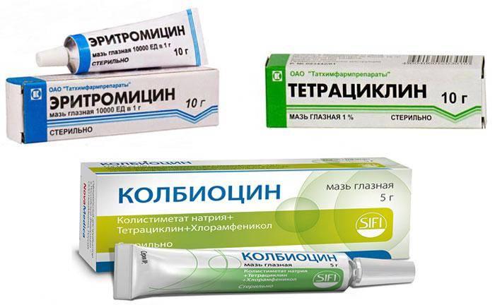 Колбиоцин – инструкция по применению, цена, аналоги, мазь глазная