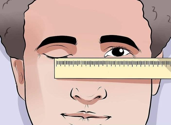 Как определить расстояние между зрачками для очков — офтальмология