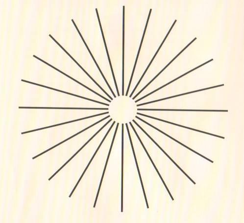 Как расшифровать тест на астигматизм?
