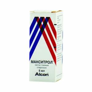 Макситрол - глазные капли, инструкция по применению при инфекциях