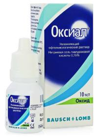 Инструкция по применению глазных капель оксиал