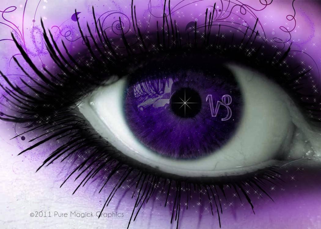 Фиолетовые глаза от природы — мутация или дар, причины явления