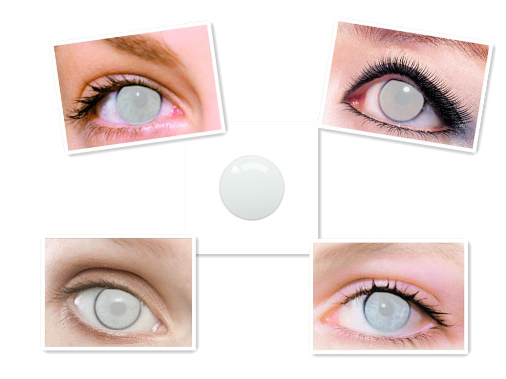 Цветные контактные линзы: разновидности, правила ношения, рекомендации по подбору
