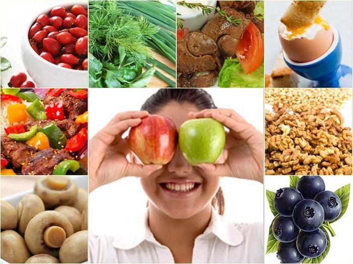Диета и питание при глаукоме