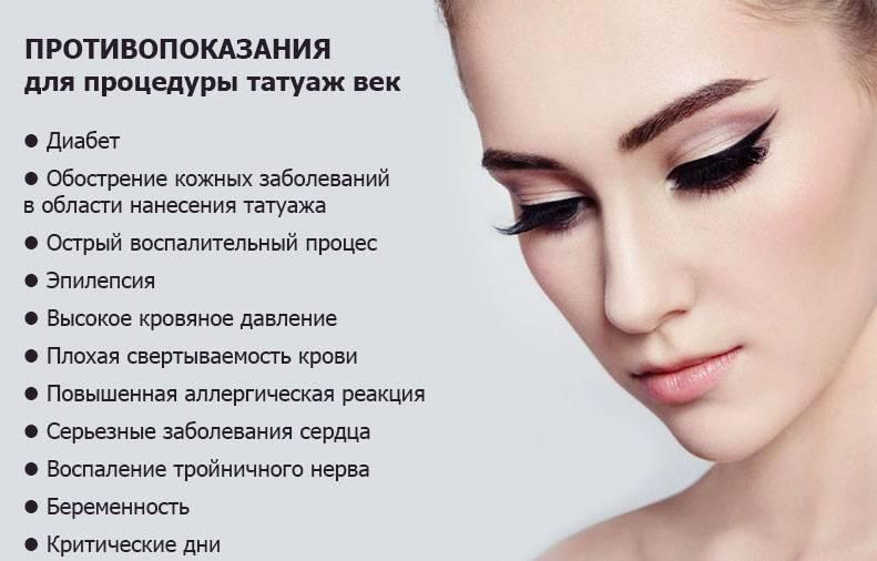 Перманентный макияж губ, век, бровей - все о процедуре, а также рекомендации по заживлению и уходу
