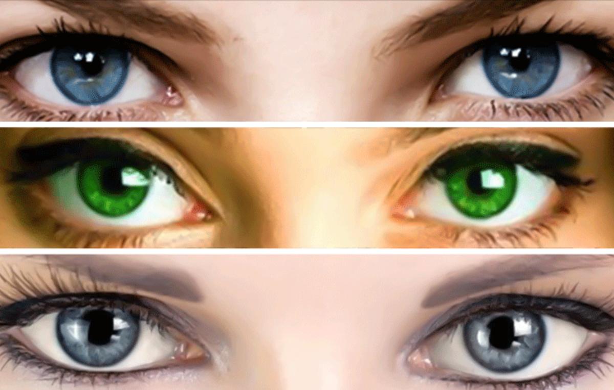 Глаза хамелеоны у человека – причины и значение