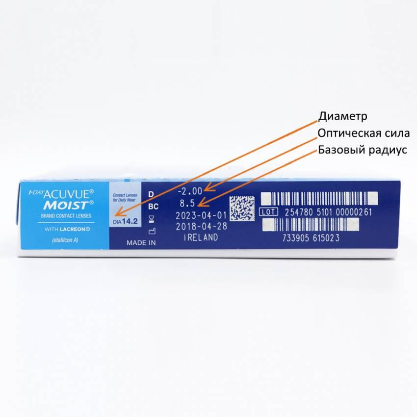 На какие характеристики важно и нужно обращать внимание при выборе контактных линз?