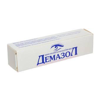 Демазол крем для век - инструкция, цена, отзывы