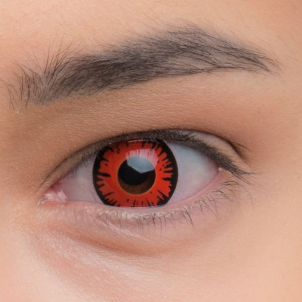 Карнавальные декоративные линзы для глаз - обзор, отзывы