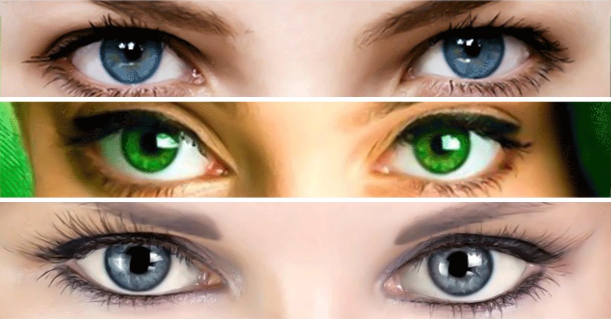 Разновидности цвета глаз у человека, какие бывают оттенки