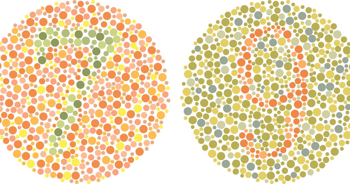 Цвета: как видят пользователи с дальтонизмом и цветовой слабостью - deadsign