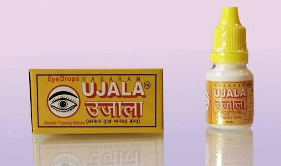 Глазные капли уджала (ujala)