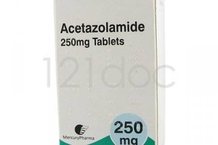 Действие ацетазоламида на организм