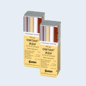 Глазные капли офтан иду: показания, инструкция по применению, препараты-аналоги и отзывы