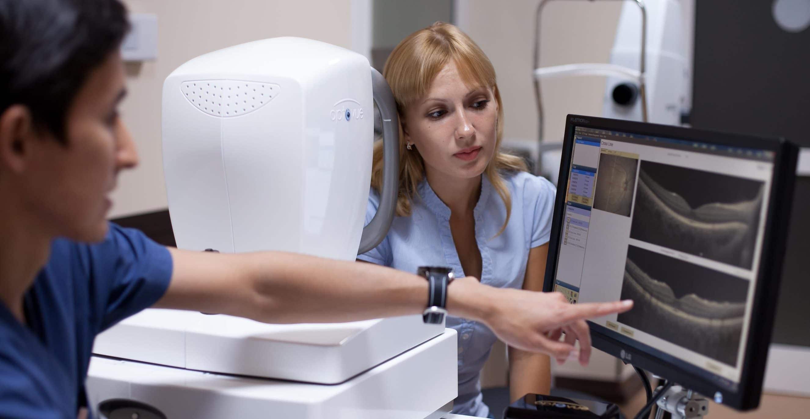 Диагностика сетчатки - как проверить сетчатку глаза