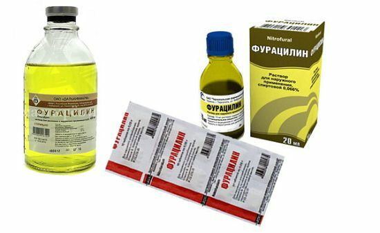 Фурацилин для глаз детям и новорожденным