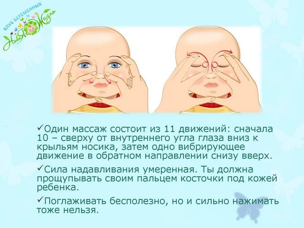 """Массаж слезного канала у новорожденного - """"здоровое око"""""""
