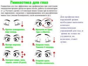 """Упражнения для глаз при работе на компьютере - """"здоровое око"""""""