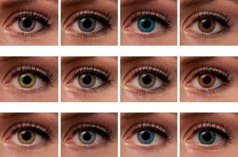 Как подобрать цветные контактные линзы для карих глаз: лучшие оттенки с фото до и после