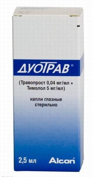Дуотрав, цена в санкт-петербурге от 698 руб., купить дуотрав, инструкция, капли