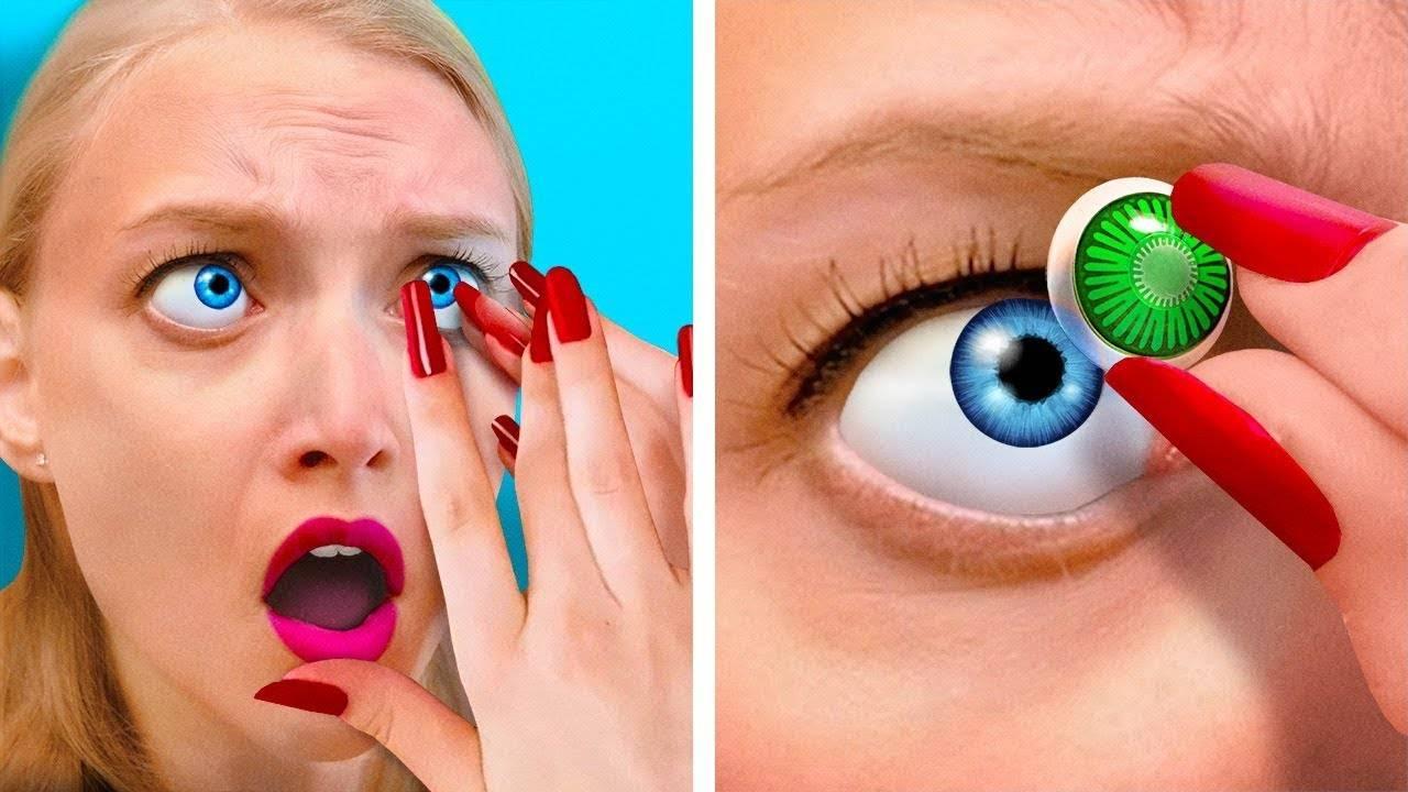 Как снять линзы с длинными ногтями? советы по снятию линз с глаз для обладательниц длинных ногтей