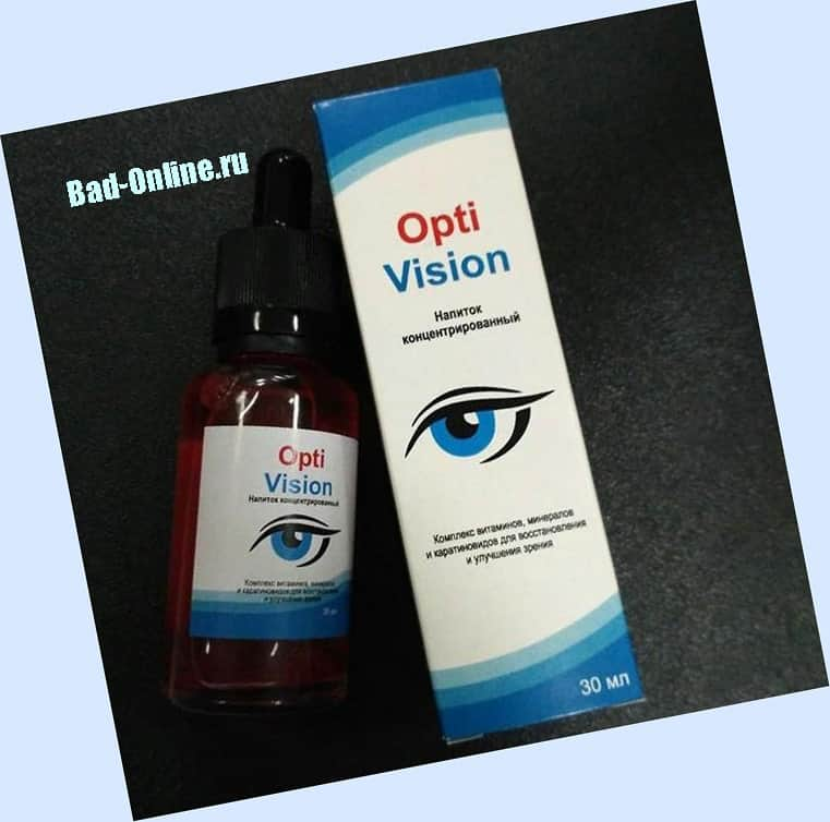Optivision (оптивизион) капли для глаз: отзыв врача, цена, где купить