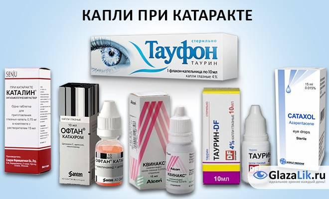 Таблетки от глаукомы