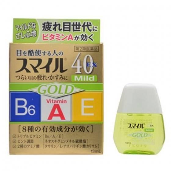Японские витаминные капли для глаз