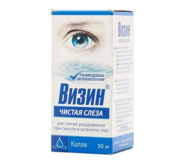 """Глазные капли """"визин чистая слеза"""": инструкция по применению, аналоги и отзывы"""