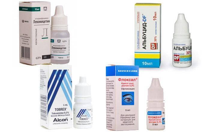 Точный удар по бактериям! антибиотики при конъюнктивите у взрослых