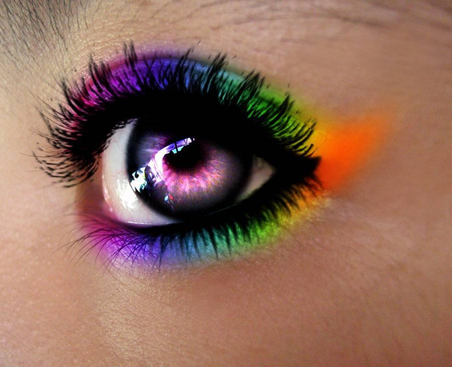 Цветные и радужные круги перед глазами
