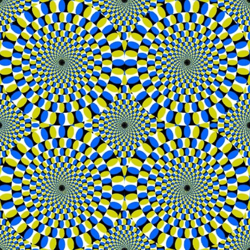 Обман зрения.  44 картинки с пояснением. почему мы так видим