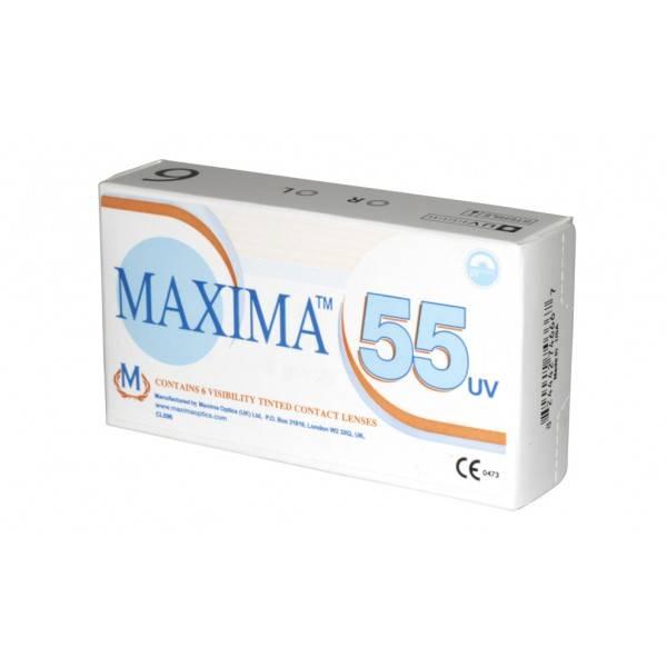 Линзы максима: раствор для контактной оптики maxima 55 uv, из чего сделаны кл