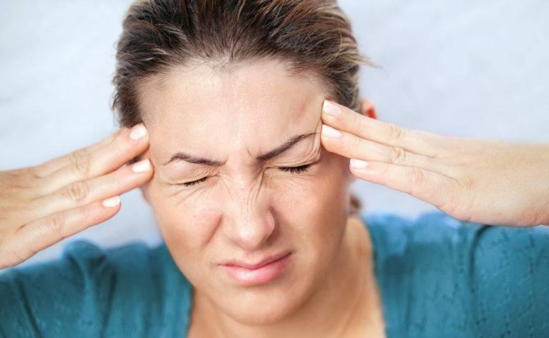 Первые очки болит голова