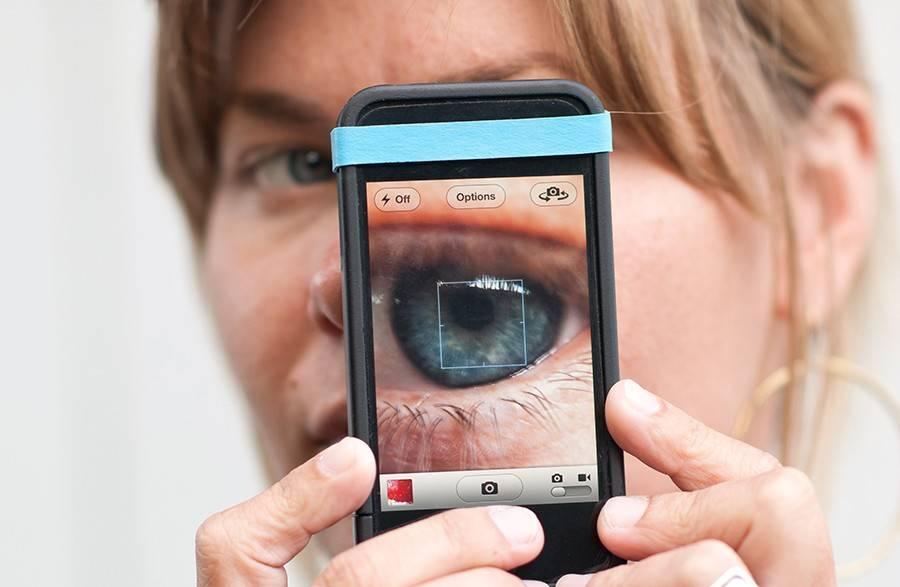 Влияние телефона на зрение ребенка