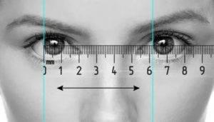 Различные методы измерения межзрачкового расстояния | ochki.com